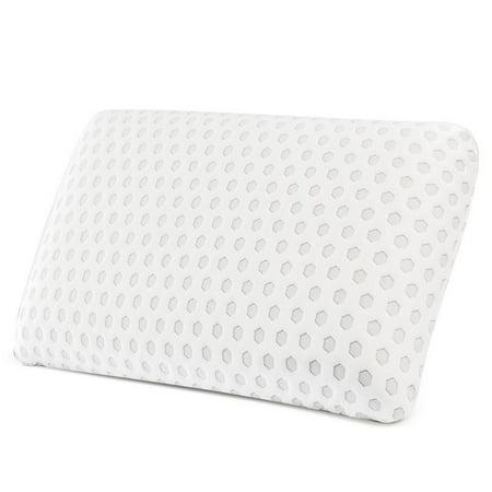 Noble Linen's Memory Foam Rectangular Pillow Single Pack ()