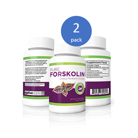 - (2 Pack) Vitality Max Labs 100% Pure Forskolin 125 mg Weight Loss Pills, 60 Ct