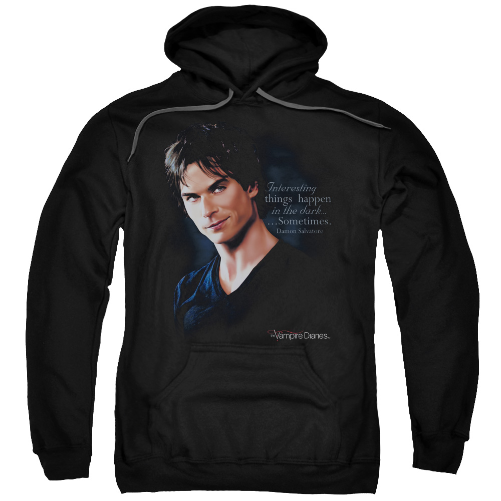 The Vampire Diaries Sometimes Mens Pullover Hoodie