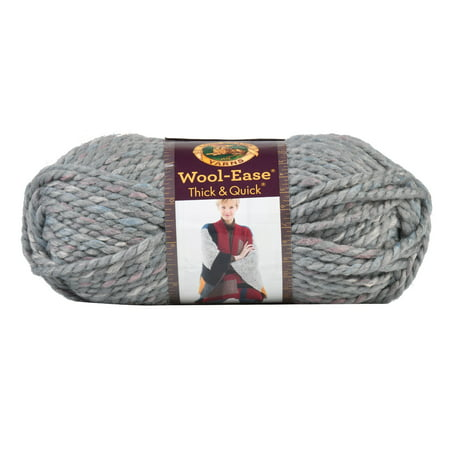 Lion Brand Wool-Ease Thick & Quick Yarn-Storm