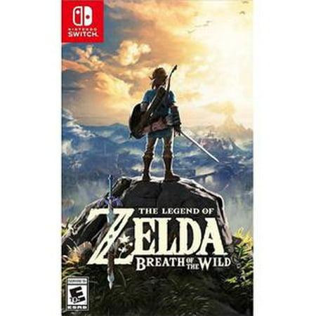 The Legend of Zelda: Breath of the Wild, Nintendo, Nintendo Switch, (Best Zelda Games In Order)