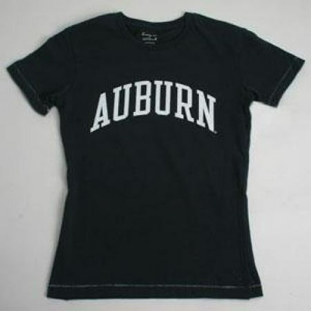 Auburn T-shirt - Ladies By League - Navy (Navy League)