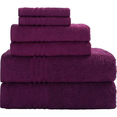 Mainstays Essential True Colors Bath Towel Collection 6