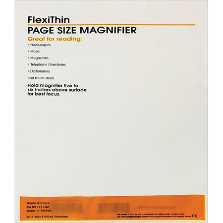 Mighty Bright FlexiThin Magnifier, 10, 3/4