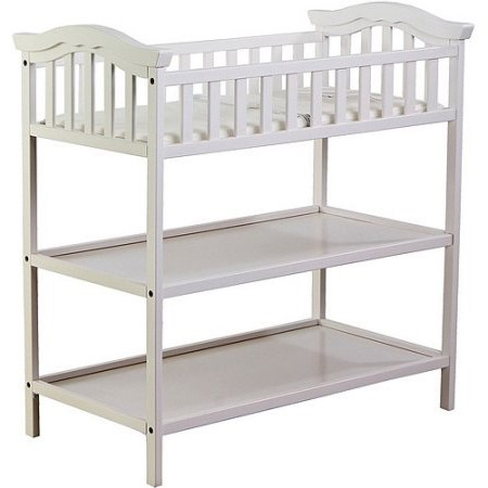 Charmant Dream On Me Jessica Changing Table, White