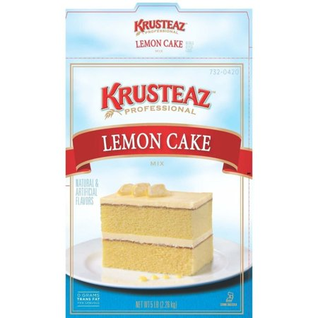 6 PACKS : Continental Mills Krusteaz Lemon Cake Mix, 5 Pound .