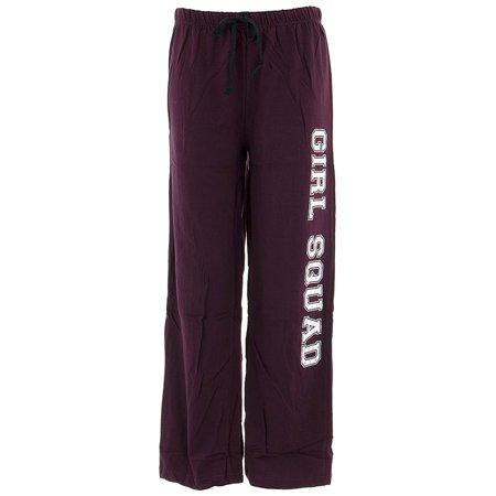 Love Loungewear Juniors Girl Squad Berry Cotton Pajama
