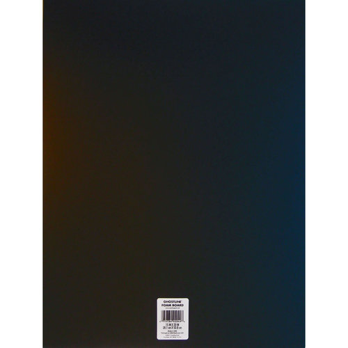 """15"""" x 20"""" Ghostline Foam Board, Black"""