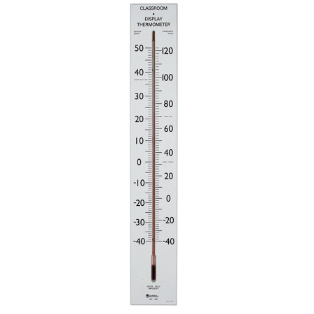 Image of Fun Express - Giant Classroom Thermometer 30t - Educational - Teaching Aids - Science - 1 Piece