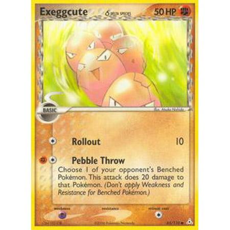 Pokemon Holon Phantoms Exeggcute (Delta Species) #65