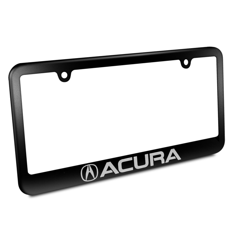 Acura Logo Black Metal Licencse Plate Frames