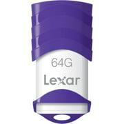64GB JumpDrive V30 USB 2.0 Flash Drive (Purple)