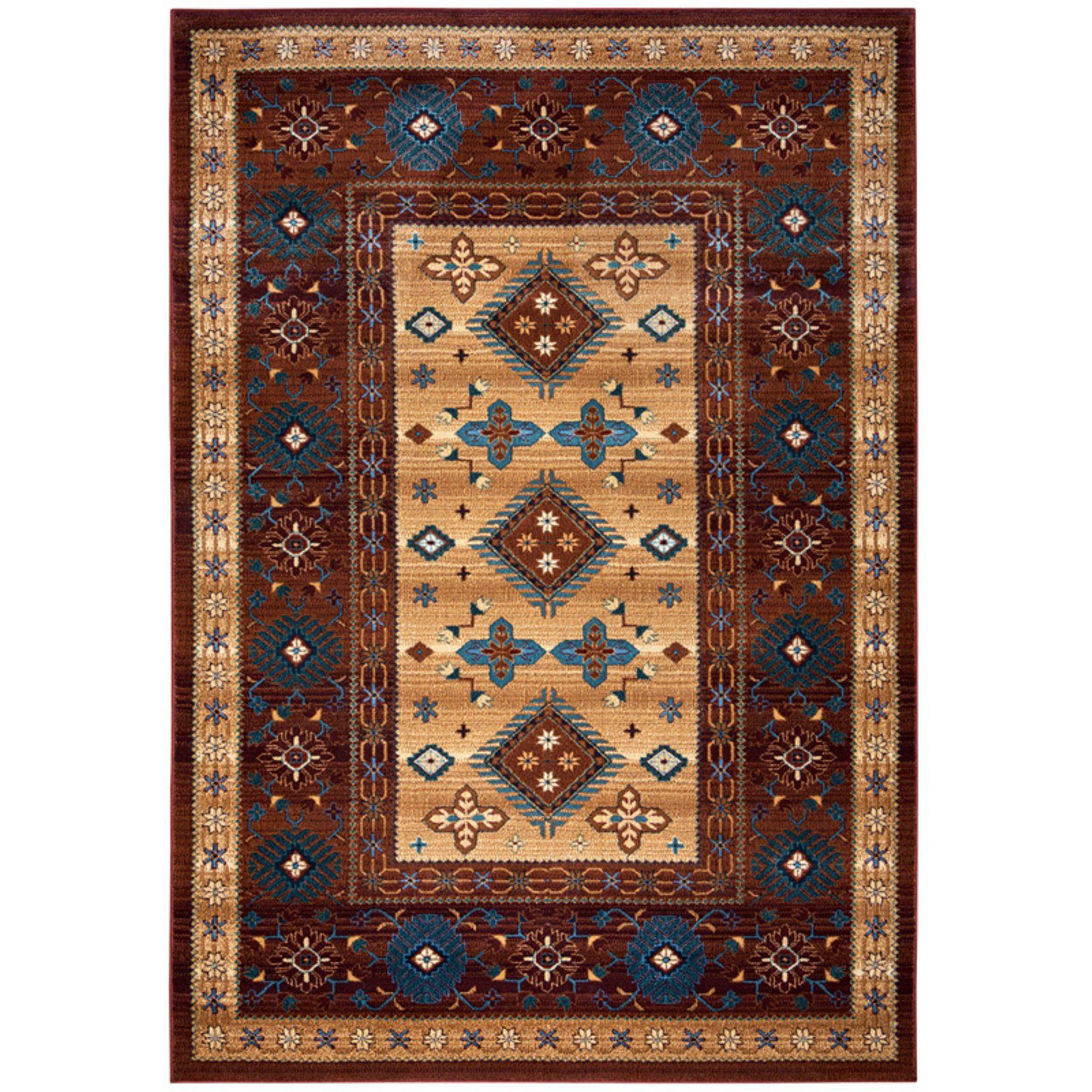 Rizzy Home BV3709 Bellevue Power Loomed Polypropylene Rug