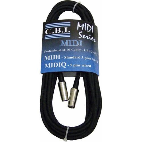 CBI 15' Standard MIDI Cable