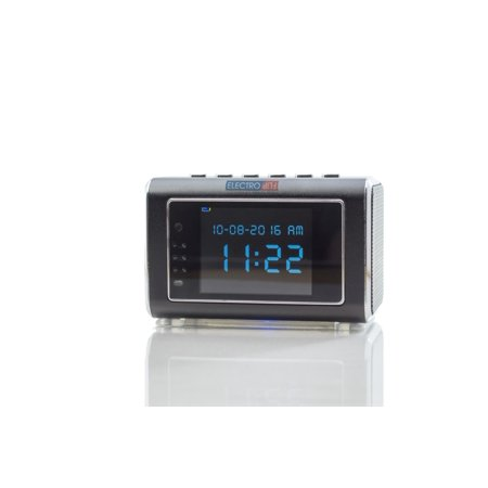 NEW Discrete Speaker Cam USB Rechargeable Clock Portable DV Recorder (Spy Cam Clock)