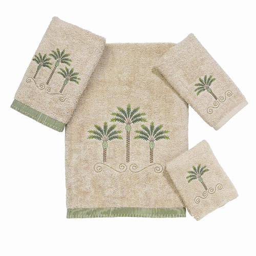 Avanti Linens Premier Palm 4 Piece Towel Set