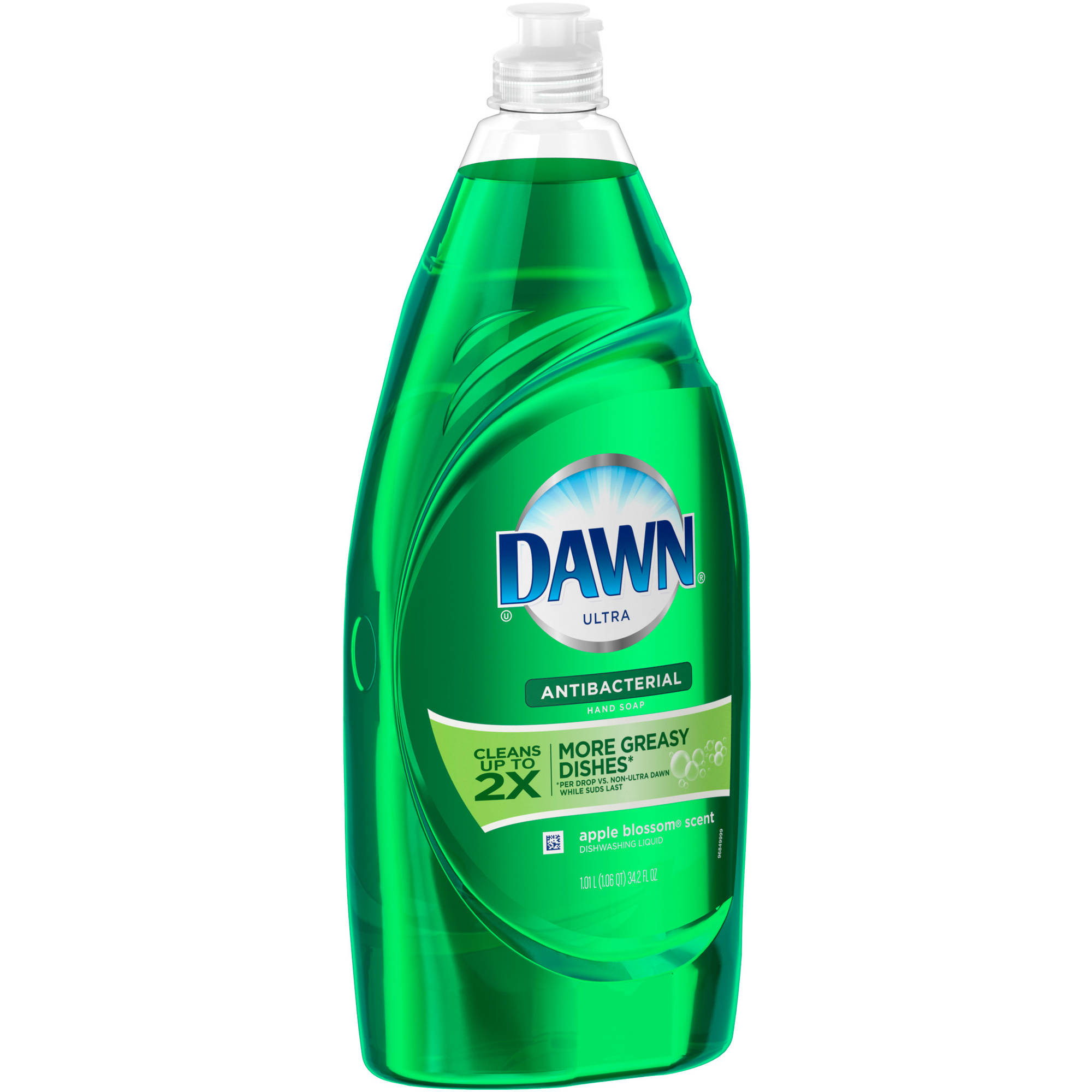 Dawn Ultra Antibacterial Dishwashing Liquid Apple Blossom (choose your size)