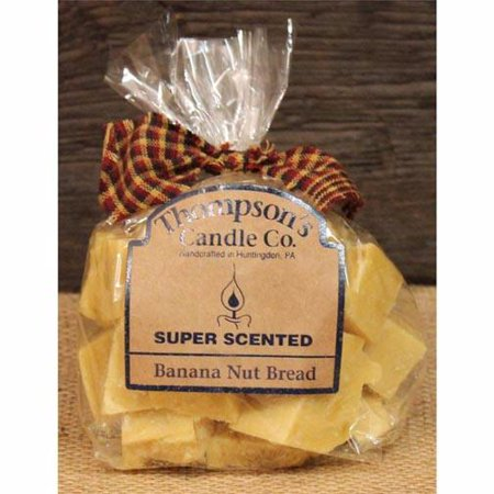 - Thompson's Candle Co. Super Scented Crumbles 6 Oz. - Banana Nut Bread