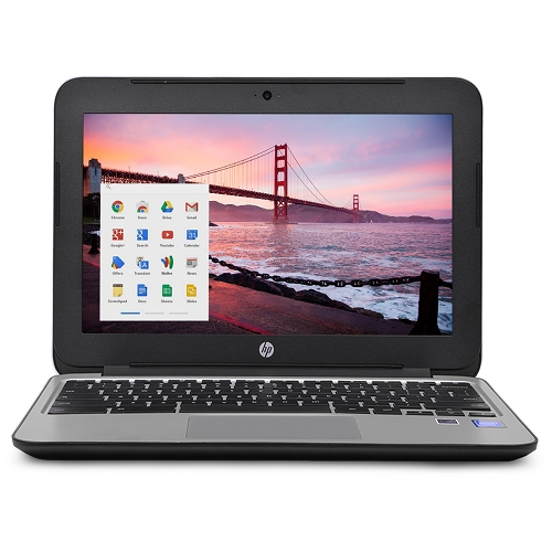 "Refurbished HP Chromebook 11 G3 11.6"" Chromebook Laptop Intel Celeron Dual Core 4GB 16GB SSD"