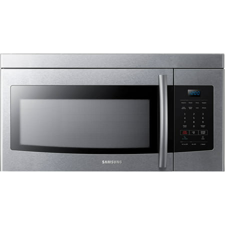 Samsung 1.6 Cu. Ft. Over-the-Range Microwave- Stainless Steel