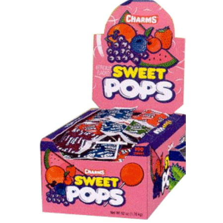 Charms Sweet Pops Assorted 48 ct (Pack of 2) - Charms Pops