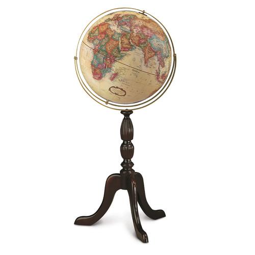Replogle Globes Cambridge 16'' Antique Walnut World Globe