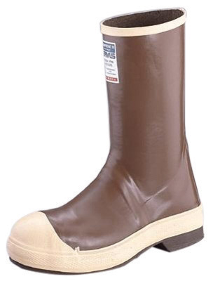 """Servus by Honeywell Size 12 Neoprene III Brown 12"""" Neoprene And Latex Boots With Neo-Grip Outsole And Steel Toe"""