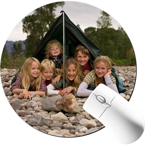 Ultra Thin Photo Mousepad Round