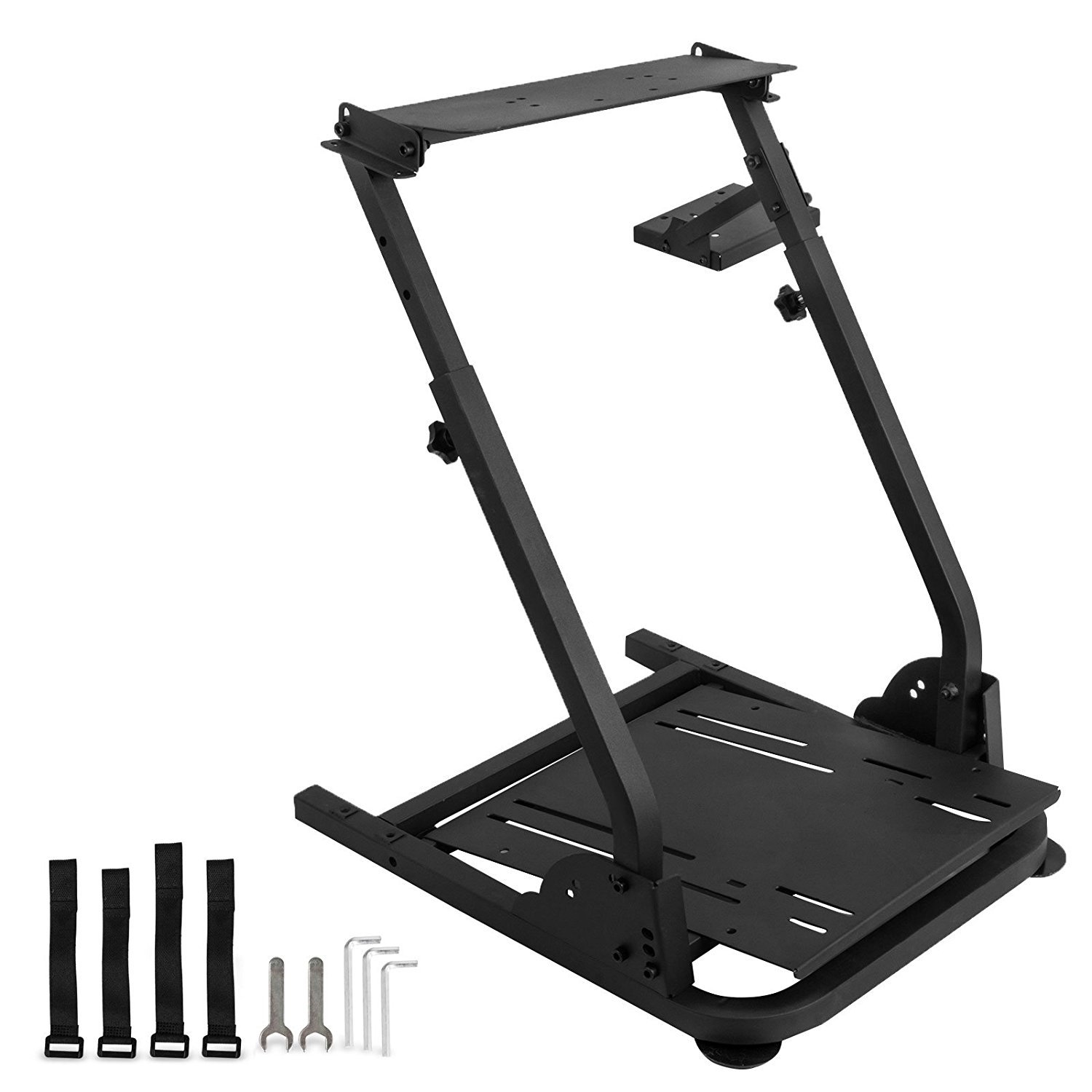 Vevor Racing Simulator Steering Wheel Stand Stand For G27 G29 Ps4 G920 T300rs Walmart Com Walmart Com