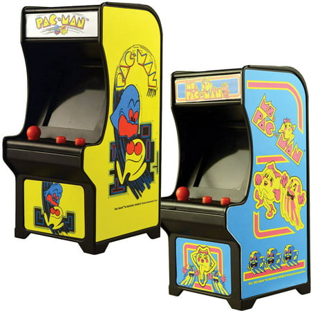 Halloween Pacman Game (Classic Handheld Pacman And Ms Miniature Arcade Games w/ Joystick)