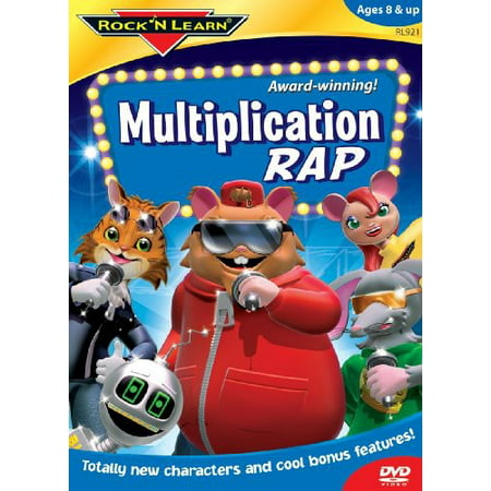 Rock N Learn: Multiplication Rap (DVD) (Best Rock Rap Mashups)