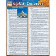 BarCharts 9781423219644 U.S. Congress Quickstudy Easel