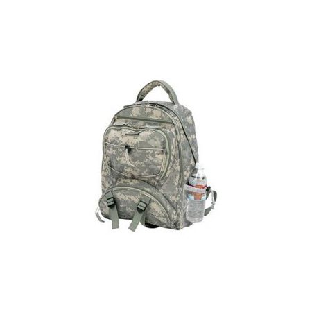 Extreme Pak LUBPSD Digital Camo Water Repellent Backpack ()