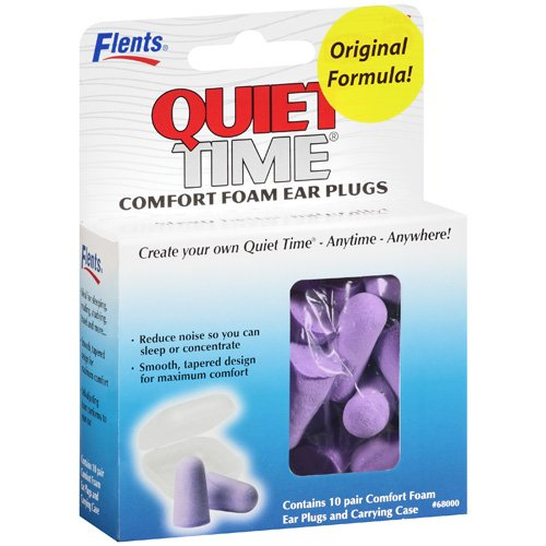 Flents: Plugs Quiet Time Comfort Foam Ear, 10 Pr