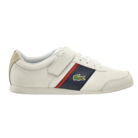 e7add0c2752316 Lacoste Embrun URS SPM Leather Synthetic Men s Shoes White Dark Blue  7-29spm2020-x96