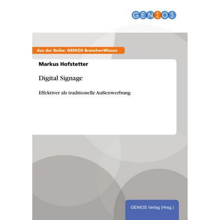 Digital Signage - eBook