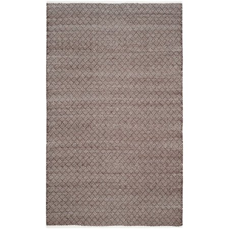 """Safavieh Boston 2'3"""" X 7' Hand Woven Cotton Pile Rug in Brown - image 6 of 7"""