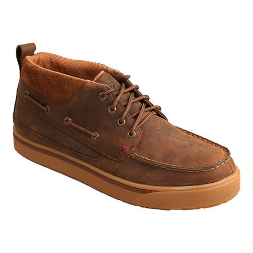 Men's Twisted X Boots MCAS004 Casual Steel Toe Boat Shoe