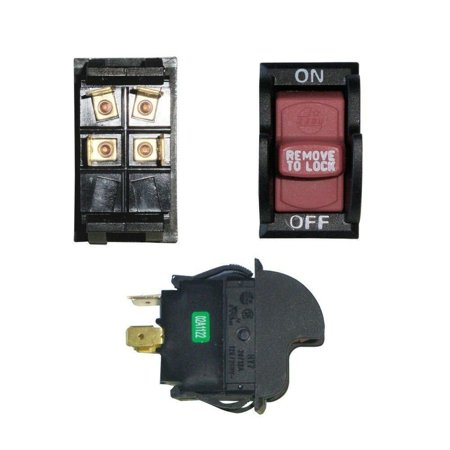 On-Off Toggle Switch for Delta 489105-00 Table Saw Locking Switch ()