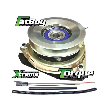 Bundle - 2 items: PTO Electric Blade Clutch, Wire Harness Repair Kit.  Replaces Sears Craftsman 532400008 PTO Clutch, w/Wire Harness Repair Kit 1