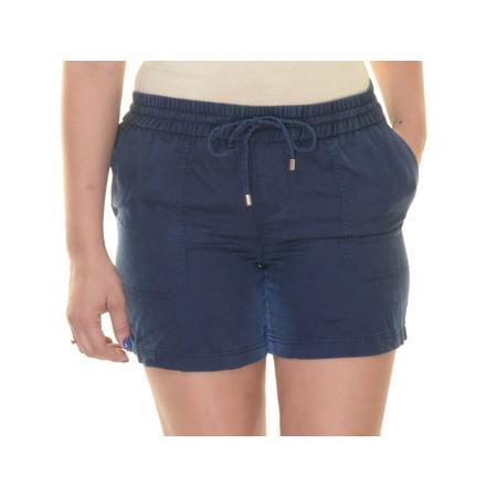 Ralph Lauren Capri Navy Shorts  Size 8 NWT - Movaz