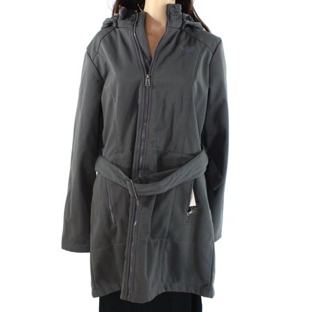 Women's Coat Full Zip Belted Hooded XL (North Face Thermoball Full Zip Jacket Review)