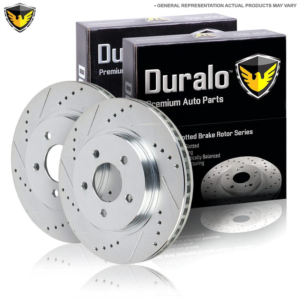 New Duralo Rear Brake Rotor Kit For Ford Explorer Sport & Sport Trac