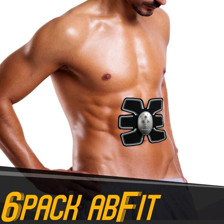 6 Pack AbFit Electro Muscle Abdominal Trainer - Get Your Abs FIT, Anytime