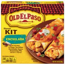 Mexican Meals & Taco Kits: Old El Paso Enchilada Kit