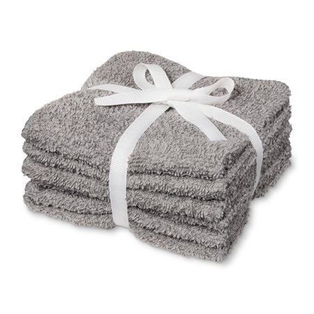 6pk Washcloth Gray - Room Essentials™