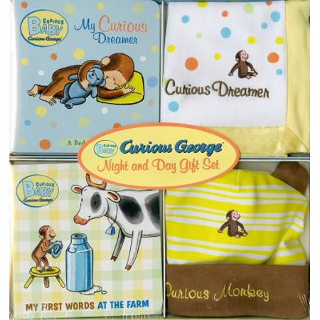 Curious Baby George Night And Day Gift Set