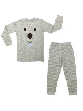 Dabuyu Bear Children's Pajamas, 18 - 24 Mos