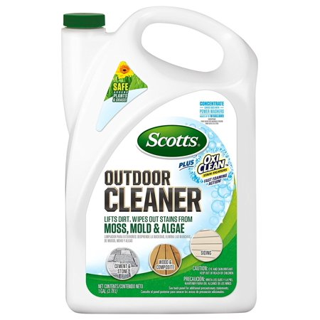 Plus Oxi Clean Outdoor Cleaner Concentrate, Safe to use around plants, lawns and fabrics By (Silk Plant Cleaner)