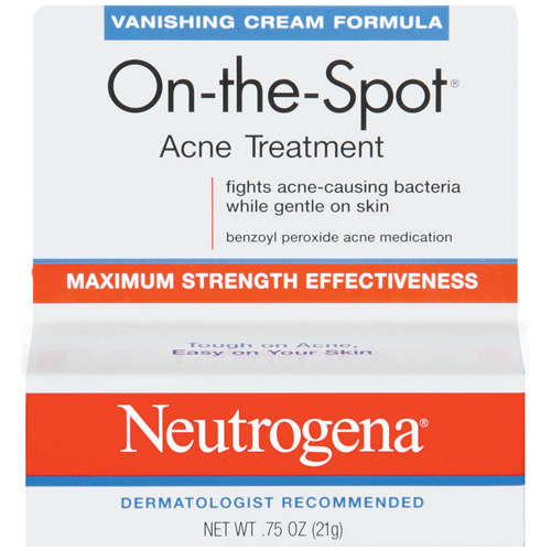 Neutrogena Vanishing Cream Formula On-The-Spot .75 oz